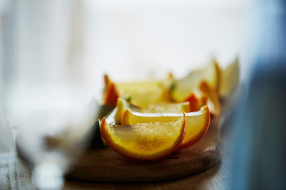 懐かしい食感!ホワイトサングリアで作るシャーベット