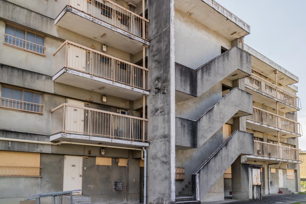 古いマンション