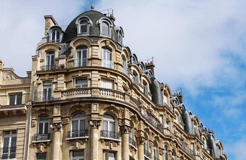 築年数が長いヨーロッパのマンション