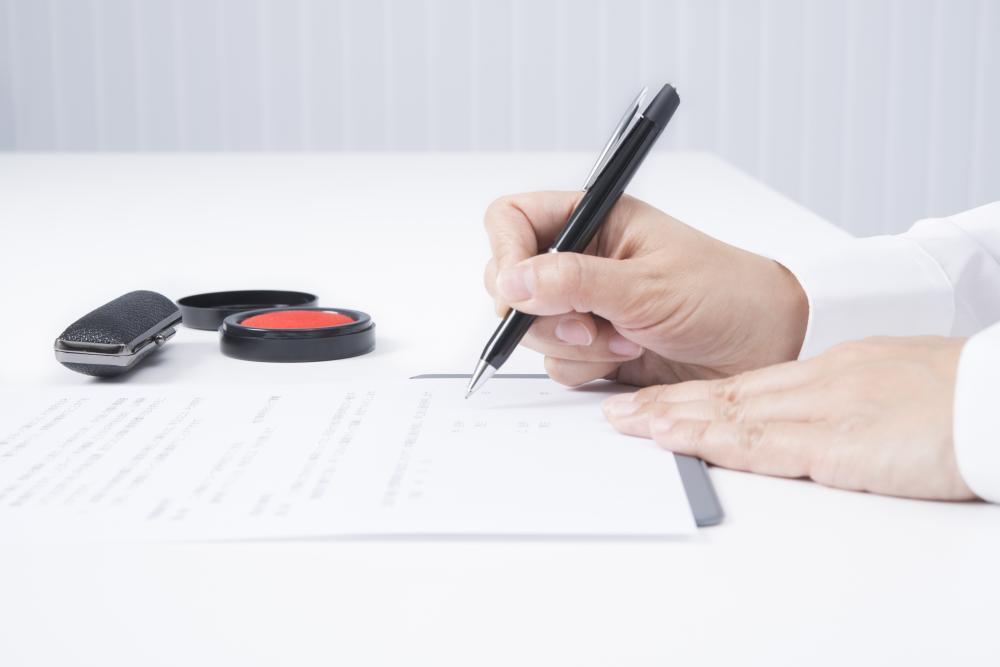 議事録への署名と捺印もお忘れなく